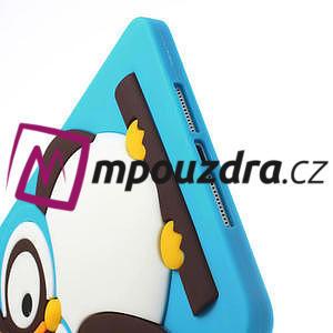 Silikonové puzdro na iPad mini 2 - modrá sova - 6
