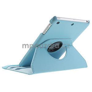 PU kožené 360° puzdro pre iPad mini- modré - 6