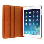 PU kožené 360° puzdro pre iPad mini- oranžové - 6/7