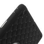 Hybridní kamínkové puzdro pre iPad mini- čierné - 6/7