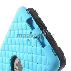 Hybridní kamínkové puzdro pre iPad mini- svetlo modré - 6