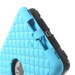 Hybridní kamínkové puzdro pre iPad mini- svetlo modré - 6/6