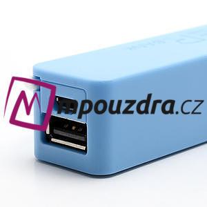 2600mAh externí baterie Power Bank - modrá - 6