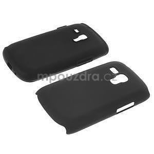 Čierné hybridný puzdro pre Samsung Galaxy S3 mini / i8190 - 6