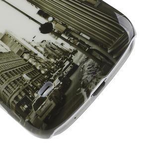 Plastové pouzdro na Samsung Galaxy S4 mini i9190- městské hodiny - 6