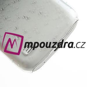 Plastové minerální puzdro pre Samsung Galaxy S4 mini i9190- čierné - 6