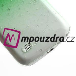 Plastové minerálné puzdro pre Samsung Galaxy S4 mini i9190- zelené - 6