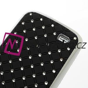 Drahokamové pouzdro pro Samsung Galaxy S4 mini i9190- černé - 6