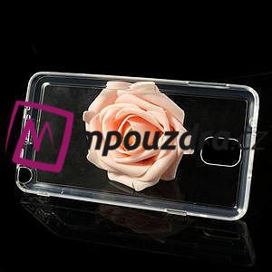 Gélové hybrid puzdro na Samsung Galaxy Note 3- transparentný - 6