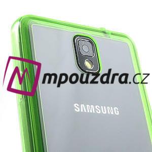 Gélové hybrid puzdro na Samsung Galaxy Note 3- zelené - 6