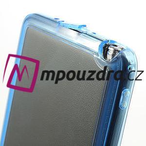 Gélové hybrid puzdro na Samsung Galaxy Note 3- modré - 6