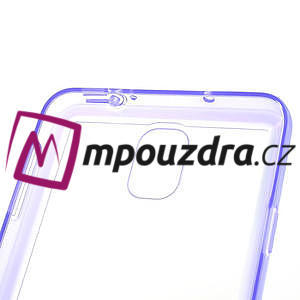 Gélové hybrid puzdro na Samsung Galaxy Note 3- fialové - 6