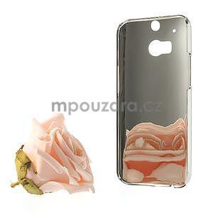 Drahokamové puzdro pre HTC one M8- biele - 6