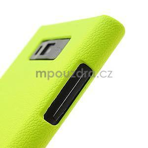 Texturované puzdro pre LG Optimus L7 P700- zelené - 6