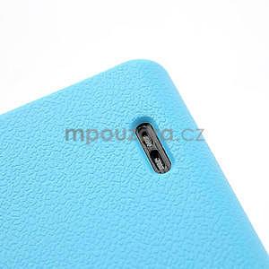 Texturované puzdro pre LG Optimus L7 P700- modré - 6