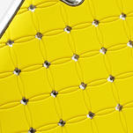Drahokamové puzdro pre LG Optimus L9 P760- žlté - 6/7