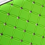 Drahokamové puzdro pre LG Optimus L9 P760- zelené - 6/7