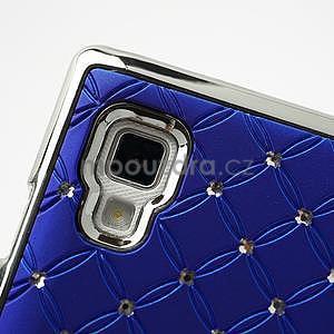 Drahokamové puzdro pre LG Optimus L9 P760- modré - 6