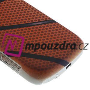 Plastové puzdro na Samsung Trend plus, S duos - basketbal - 6
