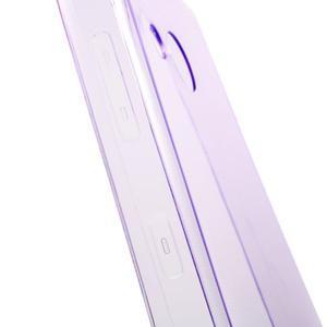 Ultratenký gélový obal na mobil Microsoft Lumia 550 - fialový - 6