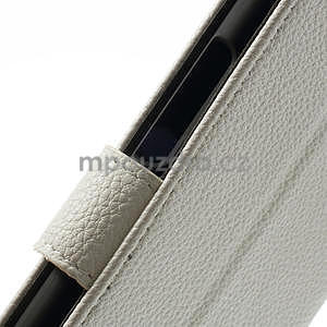 Peňaženkové puzdro pre Nokia Lumia 1320- biele - 6
