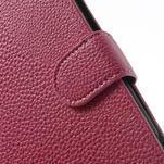 Peňaženkové puzdro pre Nokia Lumia 1320- ružové - 6/7