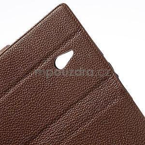 Peňaženkové puzdro pre Nokia Lumia 1320- hnedé - 6
