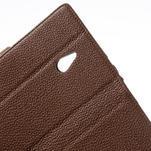 Peňaženkové puzdro pre Nokia Lumia 1320- hnedé - 6/7