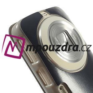 Flipové puzdro na Samsung Galaxy K zoom C115 - modré - 6