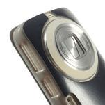 Flipové puzdro na Samsung Galaxy K zoom C115 - modré - 6/7