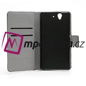 Peňaženkové puzdro na Sony Xperia Z C6603 - motýlci - 6