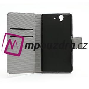 Peňaženkové puzdro pre Sony Xperia Z C6603 - farebné vzory - 6