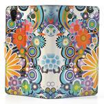 Peněženkové pouzdro na Sony Xperia Z1 C6903 L39- barevné květy - 6/7