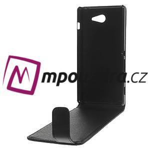 Flipové puzdro na Sony Xperia M2 D2302 - čierné - 6