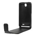 Flipové Cover kožené puzdro na HTC Desire 310- čierné - 6/6