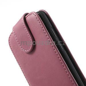 Flipové puzdro pre HTC Desire 601- růžové - 6