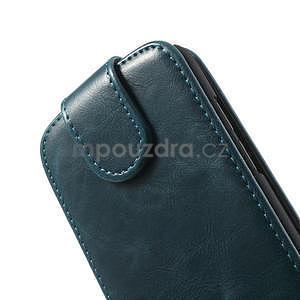 Flipové puzdro pre HTC Desire 601- modré - 6