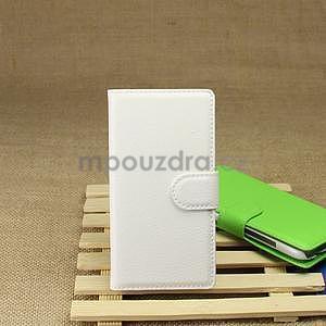 Peňaženkové puzdro pre HTC Desire 601- biele - 6