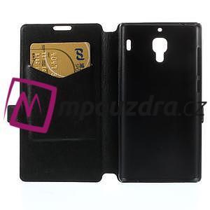 Peňaženkové  puzdro na Xiaomi Hongmi Red Rice- čierné - 6