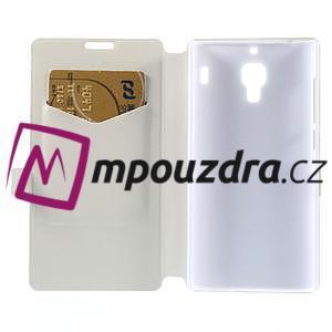 Peňaženkové puzdro na Xiaomi Hongmi Red Rice- biele - 6