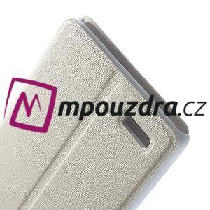 Peňaženkové puzdro na Xiaomi Hongmi Note- biele - 6