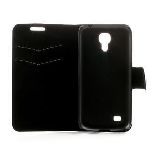 Peňaženkové puzdro na Samsung Galaxy S4 mini i9190- puntíkaté biele - 6