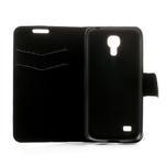 Peňaženkové puzdro na Samsung Galaxy S4 mini i9190- puntíkaté biele - 6/7