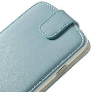 Flipové pozdropre Samsung Galaxy S3I i9300 - světle-modré - 6