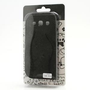 Peňaženkové puzdro pre Samsung Galaxy S3 i9300- čierné - 6
