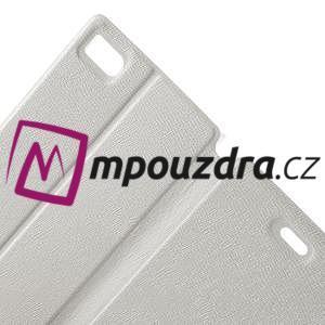 Peňaženkové puzdro na Xiaomi Mi3- biele - 6