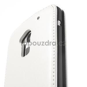 Flipové puzdro HTC one Max- biele - 6