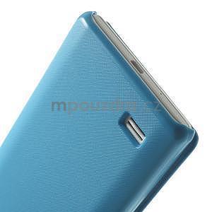 Flipové puzdro pre LG Optimus L9 P760- modré - 6