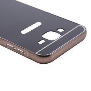 Odolný obal s kovovým obvodem na Samsung Galaxy J5 (2016) - černý - 6