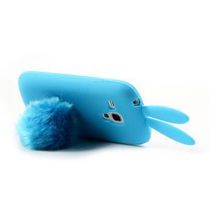 Silikonový králík pro Samsung Galaxy S3 mini i8190- modrý - 6